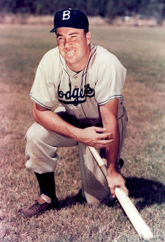 Posed portrait of Duke Snider. BL-10950.89 (National Baseball Hall of Fame Library)