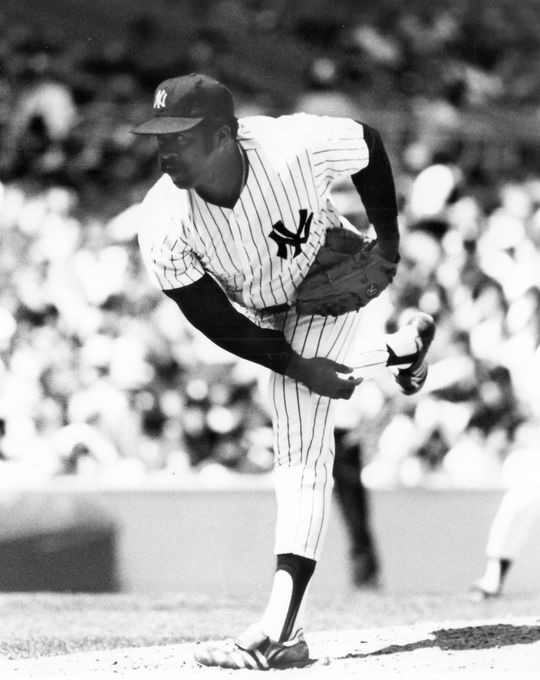 Luis Tiant of the New York Yankees pitching - BL-4829-79a (National Baseball Hall of Fame Library)