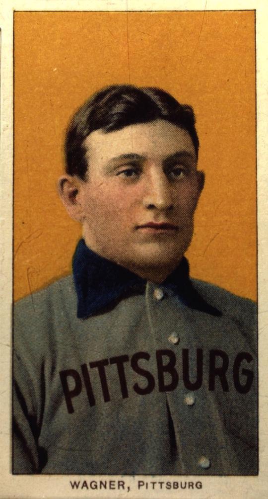 Honus Wagner T206 baseball card, 1909 - B-59-2000 (National Baseball Hall of Fame Library)
