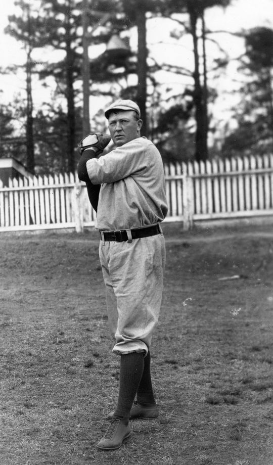 """Denton True """"Cy"""" Young - BL-87-63-5 (National Baseball Hall of Fame Library)"""