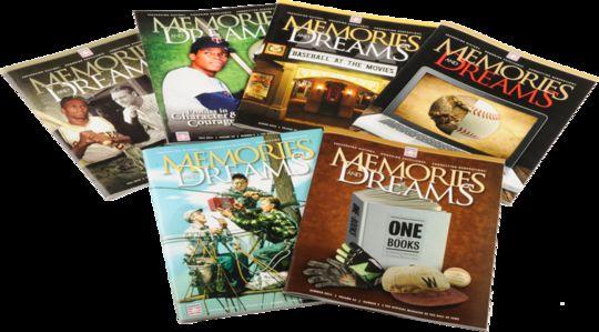 Memories and Dreams magazine (Milo Stewart, Jr/National Baseball Hall of Fame)