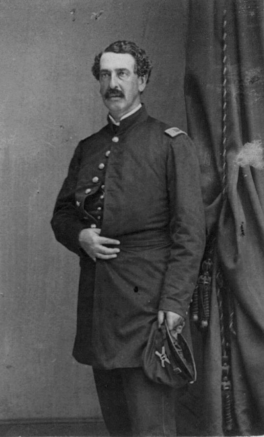 Civil War hero Abner Doubleday was once credited as the inventor of American baseball. (Mathew B. Brady/Library of Congress)
