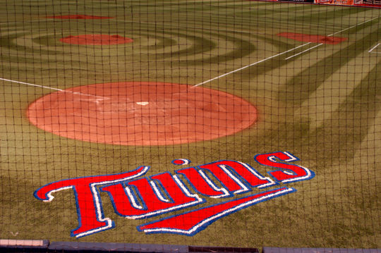 The Minnesota Twins won all of their home games played in the Metrodome during the 1991 World Series. (National Baseball Hall of Fame)