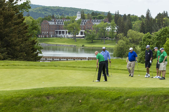The beautiful Leatherstocking Golf Course. (Milo Stewart Jr./National Baseball Hall of Fame and Museum)