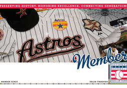 Astros Membership Card