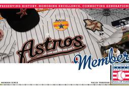 Astros Membership Card