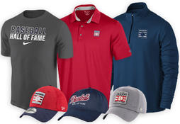 Official Hall of Fame Apparel