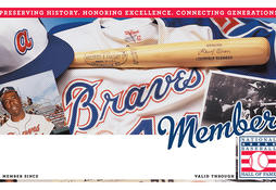 Braves Membership Card
