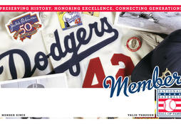 Dodgers Membership Card