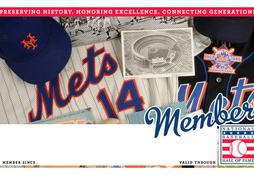 Mets Membership Card