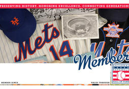Mets Membership Card