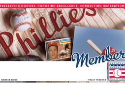 Phillies Membership Card