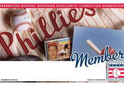 Phillies Membership Card