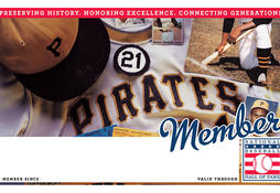 Pirates Membership Card