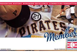 Pirates Membership Card