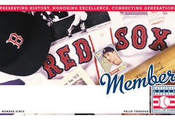 Red Sox Membership Card