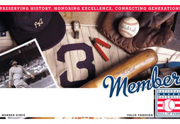 Yankees Membership Card