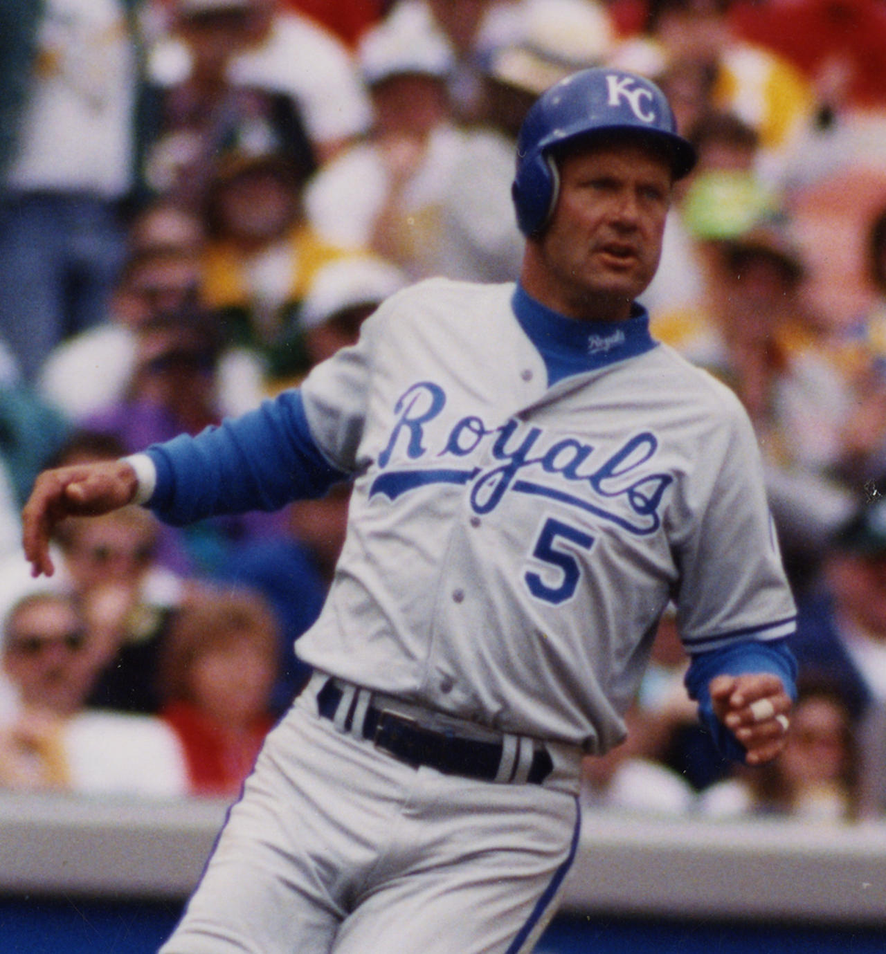 George Brett Picked off at First Base Following his 3,000th Hit