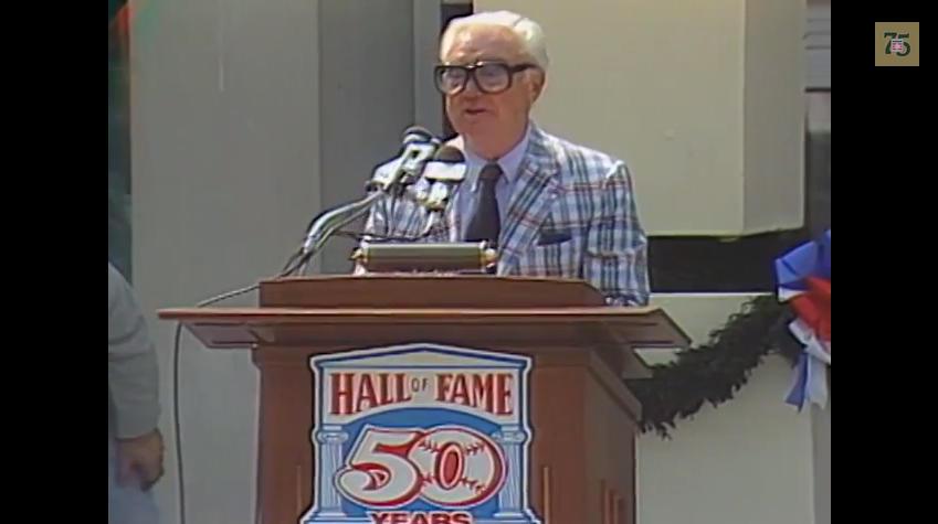 Harry Caray 1989 Ford C Frick Award Speech
