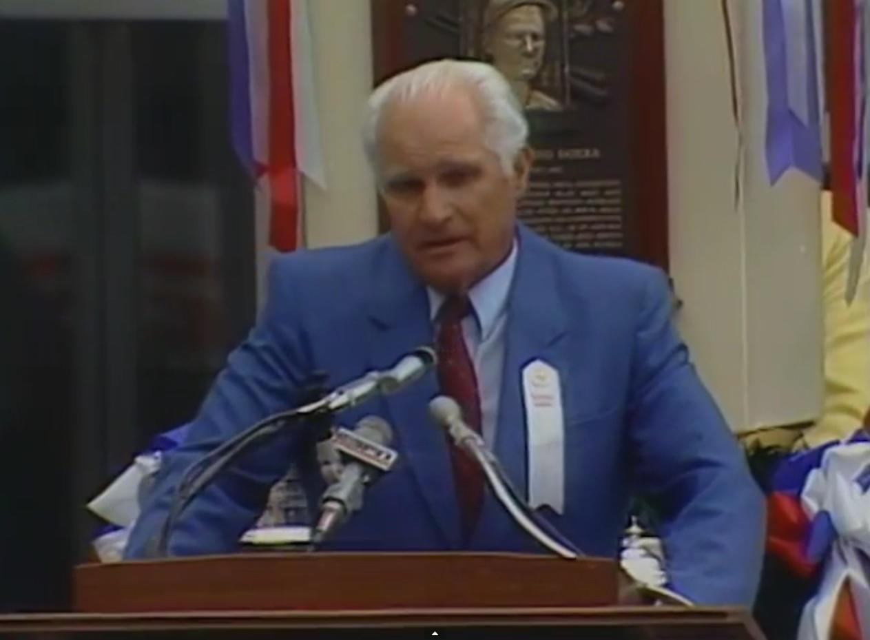 Bobby Doerr - Hall of Fame Induction Speech (1985)