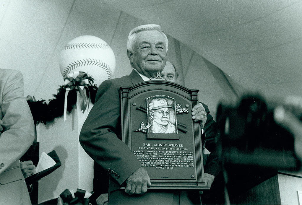 Earl Weaver 1996 Hall of Fame Induction Speech