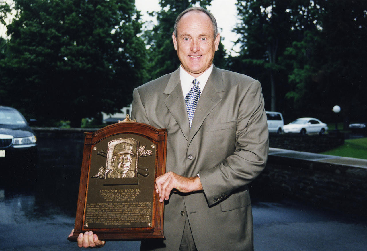 Nolan Ryan 1999 Hall of Fame Induction Speech