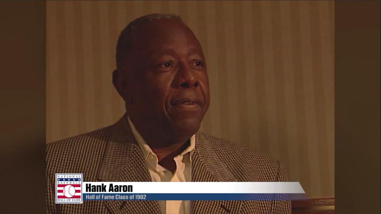 Hank Aaron on Dave Winfield