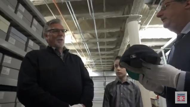 Jack Morris tours the Hall of Fame