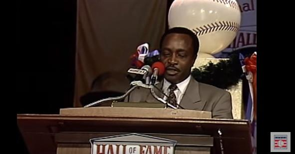 Joe Morgan 1990 Hall of Fame Induction Speech