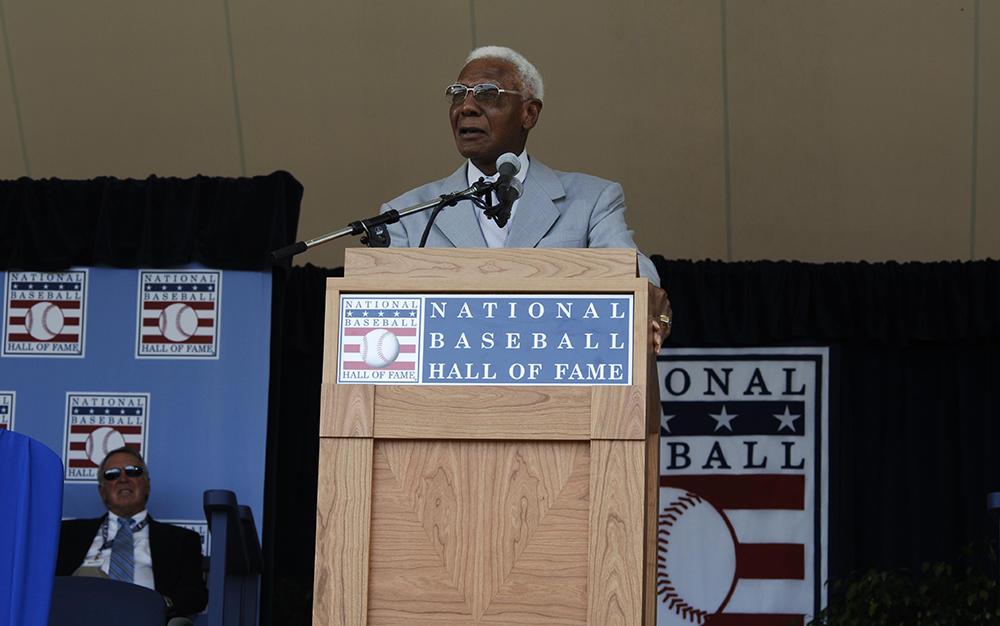 Buck O'Neil Hall of Fame speech