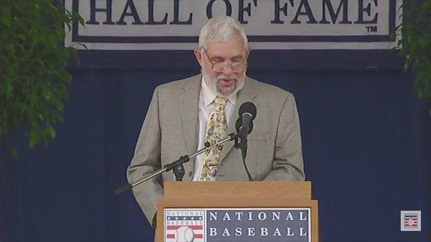 Nick Peters J.G. Taylor Spink Award Speech