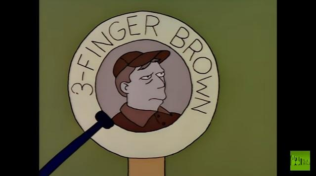 Baseball Hall Of Fame: Mr. Burns Tries To Add Ringers To His Team   Season 3 Ep. 17   THE SIMPSONS