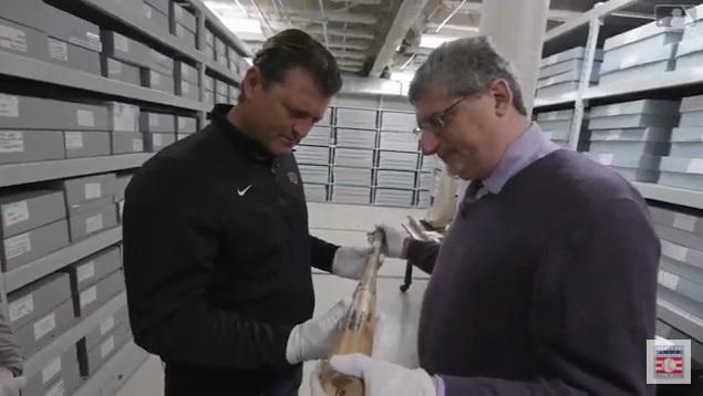 Trevor Hoffman tours the Hall of Fame