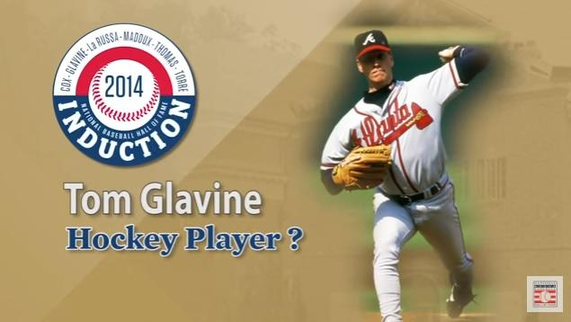 Tom Glavine, Hockey Player?