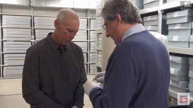 Alan Trammell tours the Hall of Fame