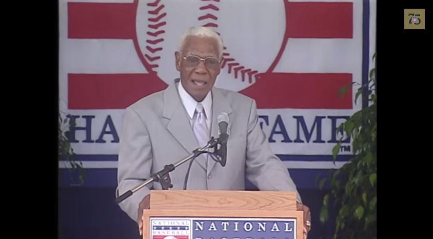 Buck O'Neil - Baseball Hall of Fame Induction Ceremony Speech, 7:25