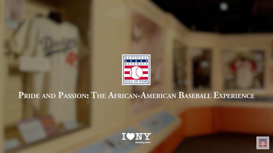 Pride and Passion: The African-American Baseball Experience