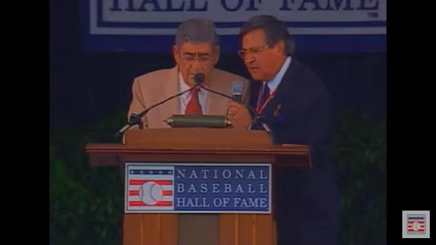 Felo Ramírez 2001 Ford C. Frick Award Speech