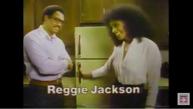 Baseball Players in Commericals - Reggie Jackson - Panasonic