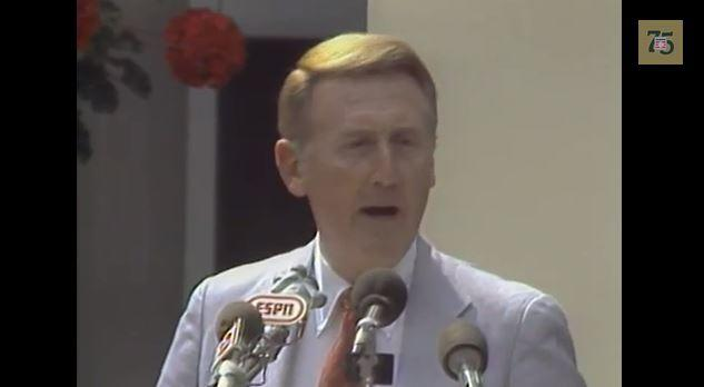 Vin Scully 1982 Ford C. Frick Award Speech, 4:19